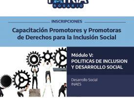 Capacitación de Promotores y Promotoras de Derechos para la Inclusión Social
