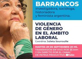 Conversatorio con Dora Barrancos
