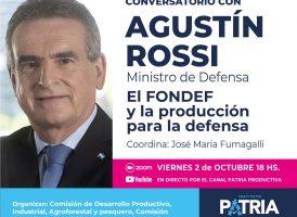 Conversatorio con Agustín Rossi