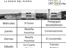 Hoy comienza la programación de Viento del Sur, la radio del Patria.