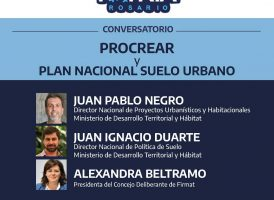 Conversatorio: PROCREAR y Plan nacional de Suelo Urbano