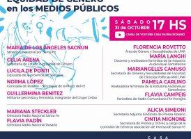 Jornada de debate por el Derecho a la Comunicación y la Equidad de Género en los Medios Públicos