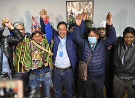 Luis Arce y David Choquehuanca ganan las elecciones presidenciales en Bolivia