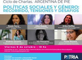 Ciclo de charlas «Argentina de pie»