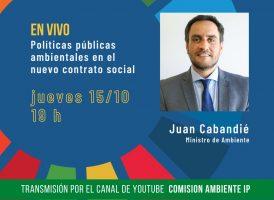 Juan Cabandié: políticas públicas ambientales en el nuevo contrato social