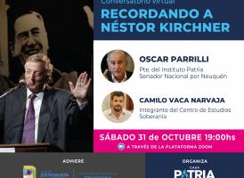 Conversatorio virtual: Recordando a Néstor Kirchner