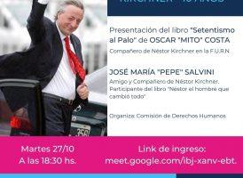 Homenaje a Néstor Kirchner – 10 años – Casa Patria Río Negro