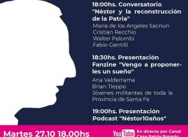 Homenaje a Néstor Kirchner – 10 años – Casa Patria Rosario