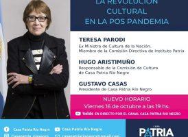 Conversatorio: «La revolución cultural en la pos pandemia»