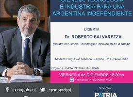 Ciencia, tecnología e industria para una Argentina independiente