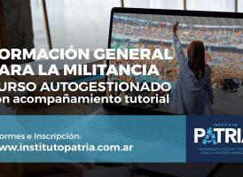 CURSO AUTOGESTIONADO DE LA MILITANCIA