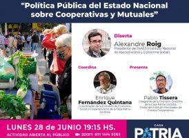 Política pública del Estado Nacional sobre cooperativas y mutuales
