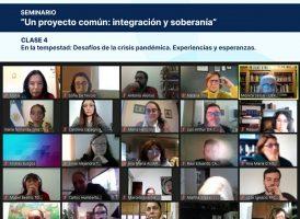 """Cuarta clase del Seminario """"Un proyecto común: integración y soberanía"""""""