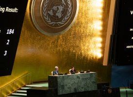 Apoyamos la condena de Naciones Unidas al embargo de EEUU a Cuba