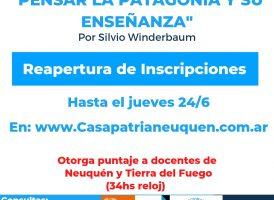 Pensar la Patagonia y su enseñanza