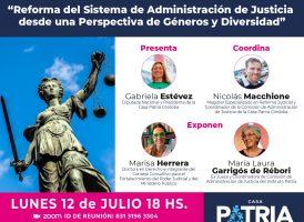 Reforma del Sistema de Administración de Justicia desde una Perspectiva de Géneros y Diversidad