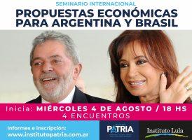 SEMINARIO INTERNACIONAL: PROPUESTAS ECONÓMICAS PARA ARGENTINA Y BRASIL