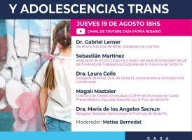 CONVERSATORIO – NUEVAS REALIDADES: INFANCIAS Y ADOLESCENCIAS TRANS