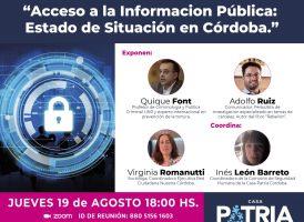 Acceso a la Información Pública: Estado de Situación en Córdoba