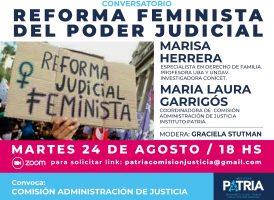 REFORMA JUDICIAL FEMINISTA