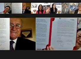 El Instituto PATRIA firmó un acuerdo de colaboración con la Academia china de Ciencias Sociales